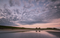 The Salt Pan Houses (Ian McClure) Tags: prestwick ayrshire scotland clouds sky beach pentax
