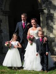 IMG_1548 (.Martin.) Tags: frettenham church wedding bride groom norfolk weddingdress dress suit guest bridesmaid