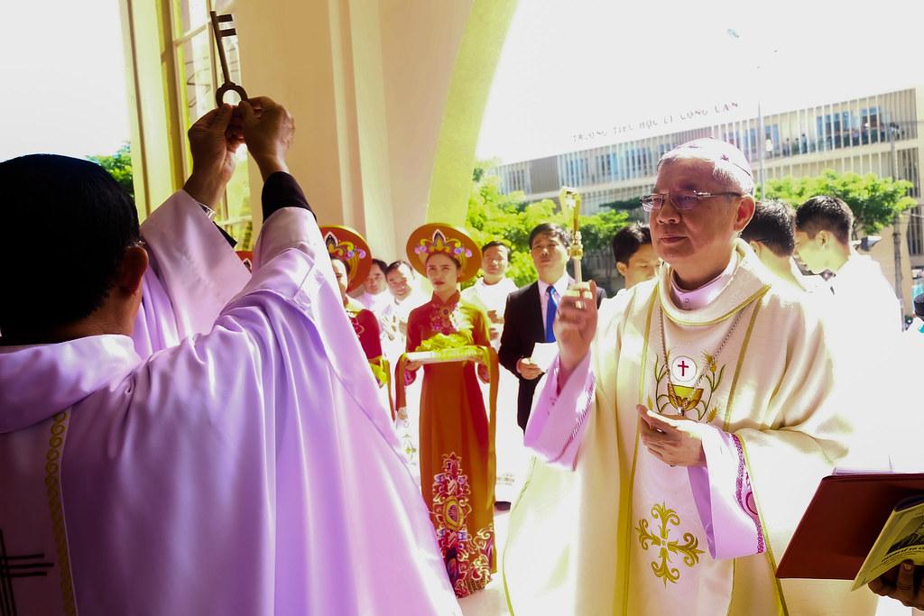 Thánh lễ tạ ơn khánh thành nhà thờ Hòa Cường – Giáo phận Đà Nẵng - Ảnh minh hoạ 8