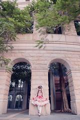 SDF_9671 (SendoFu) Tags: bonnet lolita ボンネット エプロン風スカート blouse bl ブラウス headbow kc カチューシャ bnt 蕾絲 維多利亞 jsk op onepiecedress ワンピース jumperskirt ジャンパースカート nop lolitafashion 蘿莉塔 蘿莉塔時裝 ロリータ・ファッション sweetlolita classicallolita