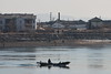 Yalu River scene DPRK (Bruce in Beijing) Tags: china dandong yaluriver dprk northkorea sinuiju riverscene fishing village