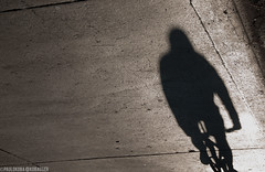 sombra (paulo koba) Tags: bike shadow rua invertido sombra bicicleta são paulo sumaré
