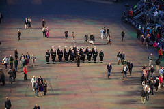 Tattoo 2nd Visit-1 (Philip Gillespie) Tags: 2017 edinburgh international military tattoo splash tartan scotland city castle canon 5dsr crowds people boys girls men women dancing music display pipes bagpipes drums fireworks costumes color colour flags crowd lighting esplanade mass smoke steam ramparts young old cityscape night sky clouds yellow blue oarange purple red green lights guns helicopter band orchestra singers rain umbrella shadows army navy raf airmen sailors soldiers india france australia battle reflections japan fire flames celtic clans