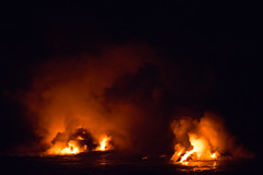 Steam (mhawkins) Tags: bigisland hawaii lava