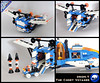 The Comet Voyager (spaceruner) Tags: lego moc 90s space ice planet voyager spaceship sci fi scifi