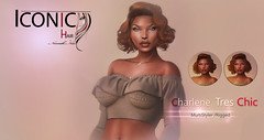Charlene_Banner (Neveah Niu /The ICONIC Owner) Tags: secondlife neveahniu iconic hair hairsl tres chic 3dmesh 3dart blender zbrush forever 21 event shopping wig polygon game asset it girls pixe cat yummy multi styler style short curly