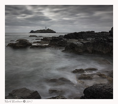 Lighthouse Pt.2 (MarkWaidson) Tags: formatthitech10stop nd le longexposure godrevy lighthouse sky clouds dull grey overcast