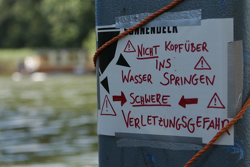 Springen verboten