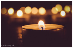 A Candle for my Daughter x (..Photography LVA..) Tags: candle tealight