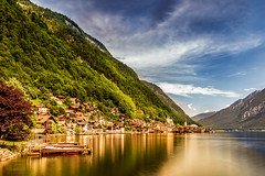 Pearlstatt (BeNowMeHere) Tags: ifttt 500px reflection travel clouds mountain trip pearl lake lakeside nature landscape austria alps hallstatt benowmehere pearlstatt