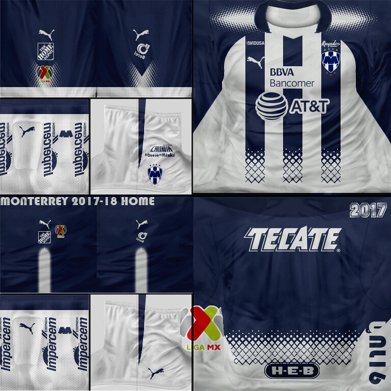 Monterrey 2018 01 Local (Kits FIFA SOCCER PC) Tags  fifa07 kits ligamx liga da0ad4b8ee3
