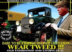 Modern Clothes Are So Boring r tweed Part 9 (MemoryCube5000) Tags: tweedjacket tweedcap retro vintage cap tweed harris cheesecutter flat nz kiwi cars car auto autos vehicles vehicle transport dapper man mens gent gents distinguished thetweedrun needfortweed canon outdoor poster art oldschool cavalrytwill wearingtweed rally show club invercargill dunedin oamaru christchurch nelson wellington wanganui plamerstonnorth newplymouth hastings napier gisborne rotorua tauranga auckland hamilton whangarei queenstown vintagecarclub oldcar canterbury otago sydney london scottish uk english melbourne country