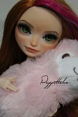Holly (Puppet Tales Dolls) Tags: ooak ooakdoll doll repaint dollrepaint custom customization holly ohair hollyohair everafterhigh ever after high freckles cute kawaii