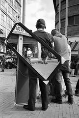 Espejo, San Victorino (RoryO'Bryen) Tags: sanvictorino bogotá blackandwhite noir people gente calle street streetphotography streetlife streets colombia copyrightroryobryen roryobryen rangefinder leicamp leicasummiluxm35mmf14asph ilfordfp4 scannedfromnegative rodinal iso125
