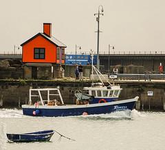 The Rowena returns to Folkestone Harbour (philbarnes4) Tags: rowena fishingboat folkestone harbour folkestoneharbour philbarnes dslr nikond80 kent england coast coastal return