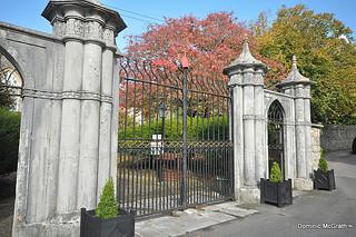 Lismore Cathedral gates.