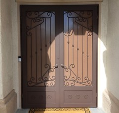 """French Security Screen Door • <a style=""""font-size:0.8em;"""" href=""""http://www.flickr.com/photos/113341785@N07/36668357604/"""" target=""""_blank"""">View on Flickr</a>"""