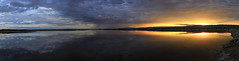 Synchrony (Matt Champlin) Tags: synchrony mirror mirroruniverse sunrise amazing peace peaceful pano panoramic canon 2017 newmexico whitesands whitesandsnationalmonument reflection water salt brine summer roadtrip mountains rugged