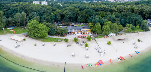 Panorama: Blackfoot Beach am Fühlinger See