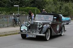 1948 Jaguar Mk IV (Hamburg PORTography) Tags: rallye hamburg berlin klassik classic vintage car oldtimer auto vehicle rausdorf 2017 hoonose68 germany deutschland canoneos6d canon eos 6d sgrossien grossien 1948 jaguar mk iv againstautotagging