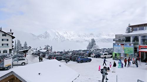 Flumserberg snowboarding