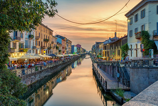 Milan's Canal district