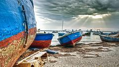 Barche (Porto Cesareo) (Marghe Pucci) Tags: barche porto cesareo mare puglia