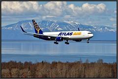 N649GT Atlas Air (Bob Garrard) Tags: n649gt atlas air boeing 767 anc panc