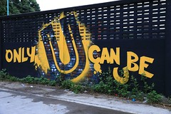 Only U Can Be U (superzookeeper) Tags: canoneos5dmarkiv ef2470mmf28liiusm 5dmk4 5dmkiv eos thailand chiangmai graffiti streetart onlyucanbeu digital