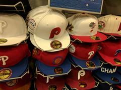 Hats (earthdog) Tags: 2017 vacation summervacation travel vacation2017 hat mall phillies majorleaguebaseball mlb baseball googlepixel pixel baseballcap androidapp moblog cameraphone