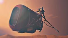 Early Morning Run (3rd-Rate Photography) Tags: starwars rey theforceawakens speeder blackseries hasbro reysspeeder jakku toy toyphotography actionfigure canon 50mm 5dmarkiii jacksonville florida 3rdratephotography earlware