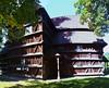 DSC_2462 (aktarian) Tags: hronsek slovakia slovaška church cerkev woodenchurch lesenacerkev unescosite sence shadowplay shadows