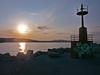 Port Guilianova Italy (Ronald Hirlé) Tags: italy sunset harbor leica gullianova beaches digilux2 ronaldhirlé