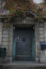 Old Gate (Rudi Pauwels) Tags: fotosondag port fs170910 goteborg gothenburg sverige sweden vasastan victoriagatan landala gate door bronze tamron 18270mm tamron18270mm nikon d7100 nikond7100