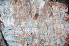 Metcalf Phyllite (Neoproterozoic; Laurel Creek Road outcrop, Great Smoky Mountains, Tennessee, USA) 13 (James St. John) Tags: metcalf phyllite phyllites metamorphic rock rocks metamorphics snowbird group ocoee supergroup precambrian proterozoic neoproterozoic laurel creek road great smoky mountains national park appalachians appalachian tennessee