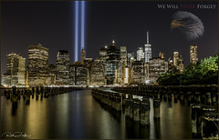 *THE YEARS MAY PASS BUT WE'LL NEVER FORGET* (Rich Zoeller Photography) Tags: richzoeller zoeller thatkidrich tkr 911 wtc wewillneverforget worldtradecenter usa neverforget landscape tributeinlights sticks reflections eagle america buildings canon memorial remember ny nyc newyorkcity manhattan patriotic explore