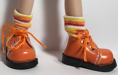 A Little Hocus Pocus...Short Socks For Blythe...