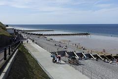 D17562.  Sheringham, North Norfolk. (Ron Fisher) Tags: sheringham norfolk northnorfolk coast sky eastanglia england gb greatbritain uk unitedkingdom europe sony sonyrx100iii sonyrx100m3 seaside