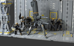 Spider-Tank (Si-MOCs) Tags: hpd humanpacificationdrones spidertank spider tank does what ever