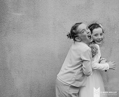 Yin and yang (MarkMolloyImages) Tags: family crazy fun communion sony blackandwhite children portrait