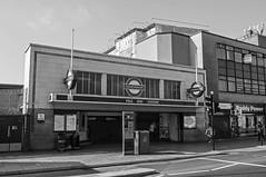 Mile End Station (D_Alexander) Tags: uk england london eastlondon mileendstation londonunderground thetube blackandwhitephotography