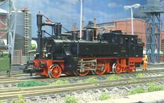 DRG BR 73 079 - Trix (Stig Baumeyer) Tags: steamlocomotive ånglok dampflokomotive damplok damplokomotiv drg deutschereichsbahn diorama modelljärnväg modelljernbane modelleisenbahn modelrailway ferromodellismo scalah0 scala187 echelleh0 echelle187 h0 187 h0skala h0scale h0layout trix187 trixh0 trix dxii bayerischedxii baydxii bavariandxii drgbr73 br73 baureihe73 drgbaureihe73