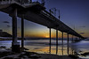 0246937238-92-Ocean Beach Pier San Diego at Sunset-2.55555 (Jim There's things half in shadow and in light) Tags: 2017 canon5dmarkiv oceanbeachmunicipalpier pacificocean sandiego september sigma24105mmf4dg beach paier sunset water waves
