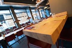 _DSC2084 (fdpdesign) Tags: pizzamaria pizzeria genova viacecchi foce italia italy design nikon d800 d200 furniture shopdesign industrial lampade arredo arredamento legno ferro abete tavoli sedie locali