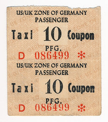 Berlin Airlift coupon (blueberry_paula) Tags: wwii ww2 airforce berlinairlift 1948 1949 postwar europe