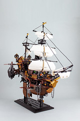 Airship (bricks.life.idea) Tags: lego airship skyboat steampunk dwarves