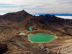 2017.04 - Tongariro Alpine Crossing, New Zealand (rambles_pl) Tags: newzealand new zealand tongariro alpine crossing tongariroalpinecrossing mountain mountains lake abovetheclouds vulcano