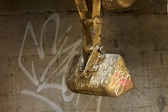 Digging for Fire (LookSharpImages) Tags: lime oregon limeoregon abandoned abandonedspaces