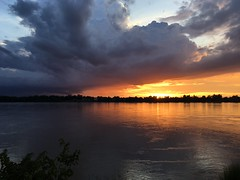 Sunset over Mekong 2017-8-8 14 (SierraSunrise) Tags: clouds mekong mekongriver nongkhai phonphisai reflections rivers skies sky storm sunset sunsets thailand water
