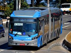6 3045 Mobibrasil (busManíaCo) Tags: busmaníaco ônibus bus nikond3100 nikon d3100 caio millennium brt mercedesbenz o500uda bluetec 5 mobibrasil